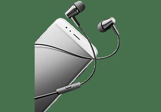CELLULAR LINE 37868 Au In Ear K Headset mit Mikrofon und Rufannahmeknopf,, In-ear Headset Schwarz