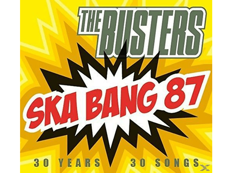 The Busters - Ska Bang 87-30 Jahre,30 Songs [CD]