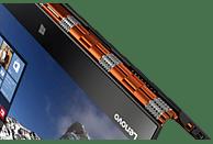LENOVO Yoga 900, Convertible mit 13.3 Zoll Display, Core™ i7 Prozessor, 8 GB RAM, 512 GB SSD, HD-Grafik 520, Clementine Orange