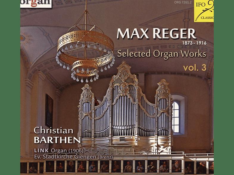 VARIOUS, Barthen Christian - Selected Organ Works Vol.3 [CD]