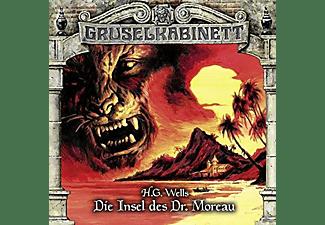 Gruselkabinett-folge 122 - Die Insel des Dr.Moreau  - (CD)
