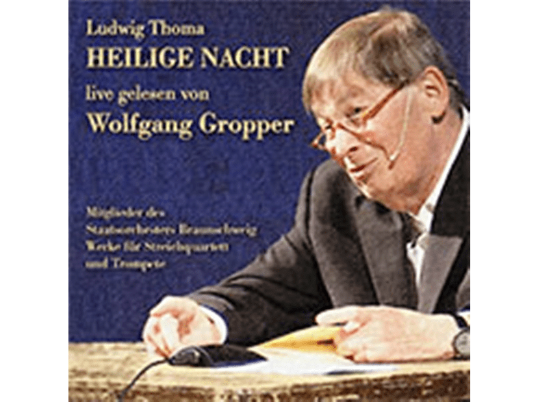 Wolfgang Gropper, VARIOUS - Heilige Nacht [CD]