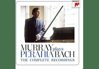 Perahia Murray - Murray Perahia plays Bach-The Complete Recording  - (CD)