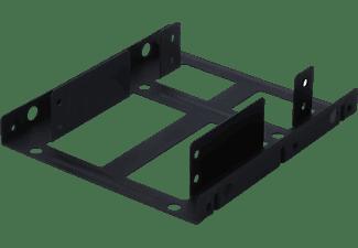 DIGITUS Dual Montagekit Interner Einbaurahmen, Schwarz