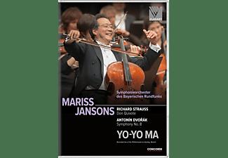 Symphonieorchester Des Bayerischen Rundfunks, Yo-Yo Ma - Richard Strauss Don Quixote/Antonin Dvorak  - (DVD)