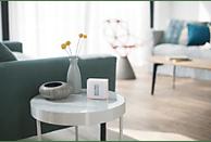 NETATMO NTH01-DE-EC Wandthermostat, Transparent/Weiß