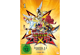 Yu-Gi-Oh! Zexal - Staffel 1.1 DVD