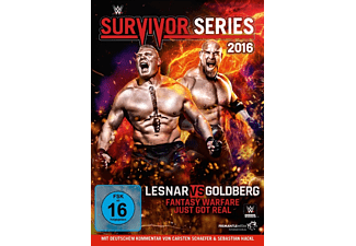 Survivor Series 2016 DVD
