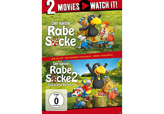 Der kleine Rabe Socke/Der kleine Rabe Socke 2- DVD