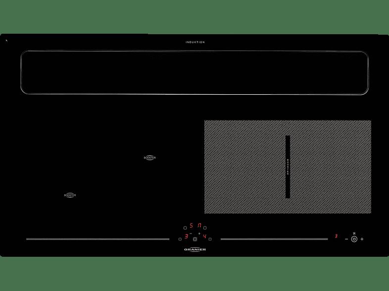 ORANIER 1092 30 KXI 1092 Abluft , Induktionskochfeld mit integriertem Dunstabzug (910 mm)