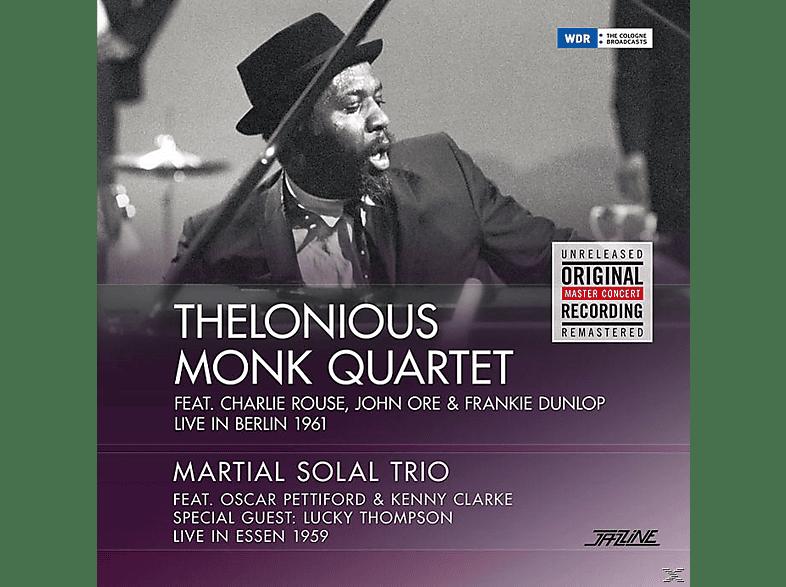 Thelonious Monk Quartet/Martial Solal Trio - Live In Berlin '61   Live In Essen [Vinyl]