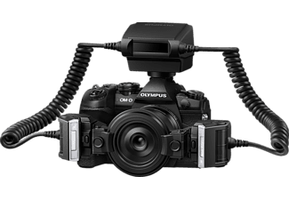 OLYMPUS Zangenblitz STF‑8 Makro Blitz