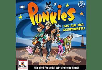 Die Punkies - 003/Gig auf der Geisterinsel  - (CD)