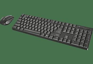 TRUST 21133 Ximo, Tastatur & Maus Set, Schwarz