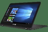 ASUS Zenbook Flip UX360UAK-BB283T, Convertible mit 13.3 Zoll Display, Core™ i5 Prozessor, 8 GB RAM, 256 GB SSD, HD-Grafik 620, Schwarz