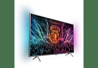 PHILIPS 55PUS6201/12 LED TV (Flat, 55 Zoll / 139 cm, UHD 4K, SMART TV, Ambilight)