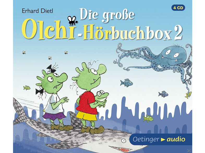 Erhard Dietl - Die  große Olchi-Hörbuchbox 2 - (CD)