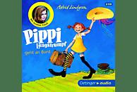 Astrid Lindgren - Pippi Langstrumpf geht an Bord - (CD)
