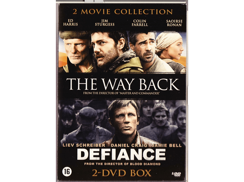 The Way Back / Defiance DVD