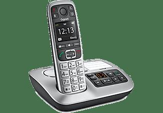 GIGASET Analogtelefon + Anrufbeantworter E560A, silber (S30852-H2728-C101)