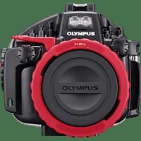 OLYMPUS PT-EP14 Unterwassergehäuse, Schwarz/Rot