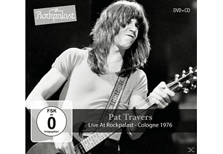 Pat Travers - Live At Rockpalast-Cologne 1976  - (CD + DVD Video)