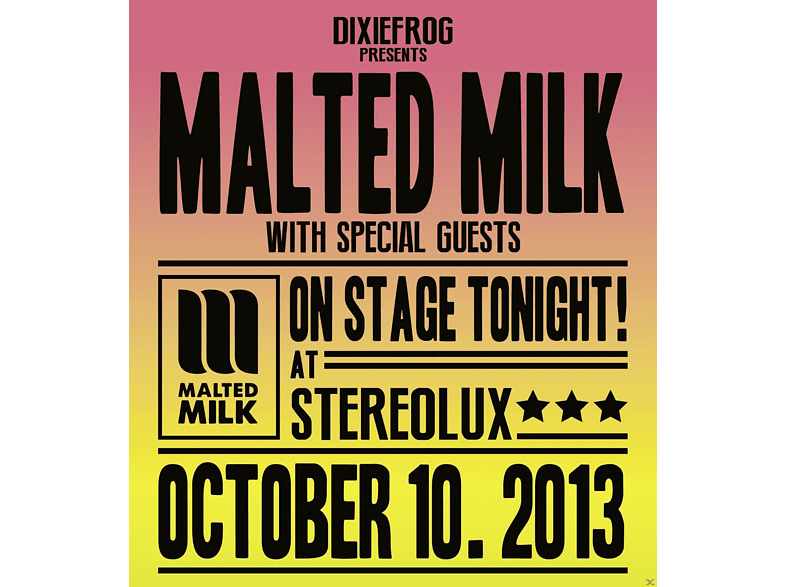 Malted Milk - On Stage [CD]