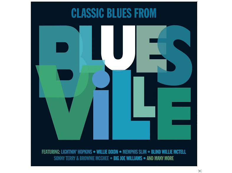 VARIOUS - Classic Blues From Bluesville [CD]