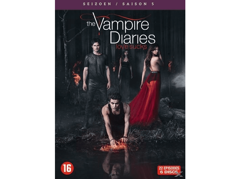 The Vampire Diaries - Seizoen 5 - DVD