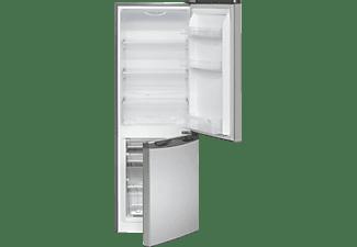BOMANN KG 322  Kühlgefrierkombination, 110 kWh/Jahr, 1430 mm hoch, Edelstahl)