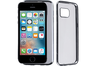 VOLTE-TEL Θήκη Iphone SE/5S/5 Faceplate Electroplating Grey - (5205308173707)