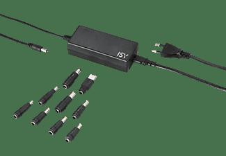 ISY IAC-1102 Notebook Netzteil Universal, 19 Volt 65 Watt, Schwarz