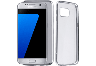 VOLTE-TEL Θήκη Samsung S7 G930 Faceplate Electroplating Silver - (5205308173837)