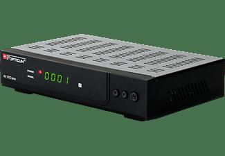 OPTICUM RED HD AX300 Plus Receiver (HDTV, DVB-S, DVB-S2, Schwarz)