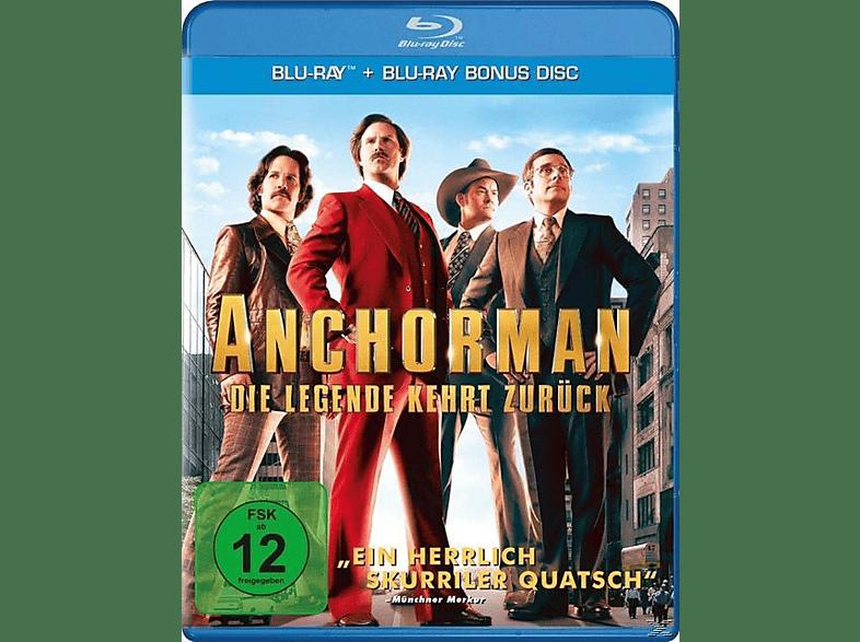 Anchorman - Die Legende kehrt zurück (Replenishment) [Blu-ray]