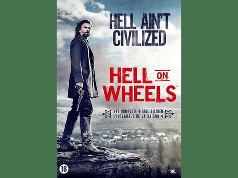 Hell On Wheels - Seizoen 4 - DVD