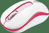 RAPOO M10 Plus Maus, Weiß/Rot