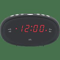 OK. OCR 210 Radio-Wecker FM, Schwarz