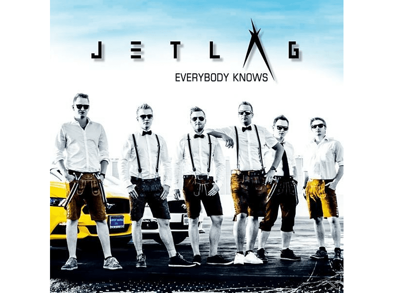 Jetlag - Everybody Knows [CD]