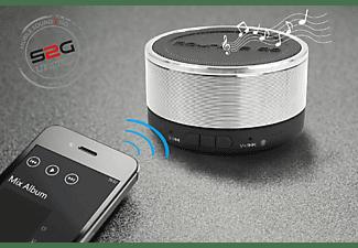 SOUND2GO BIGBASS XL Bluetooth Lautsprecher, Chrom