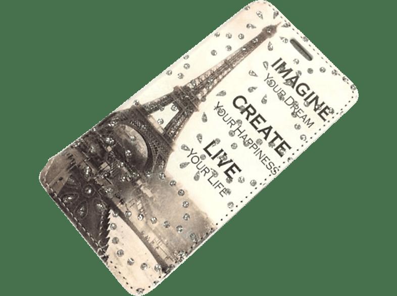 AGM Gleam , Bookcover, Samsung, Galaxy J3, Galaxy J3 (2016), Kunstleder