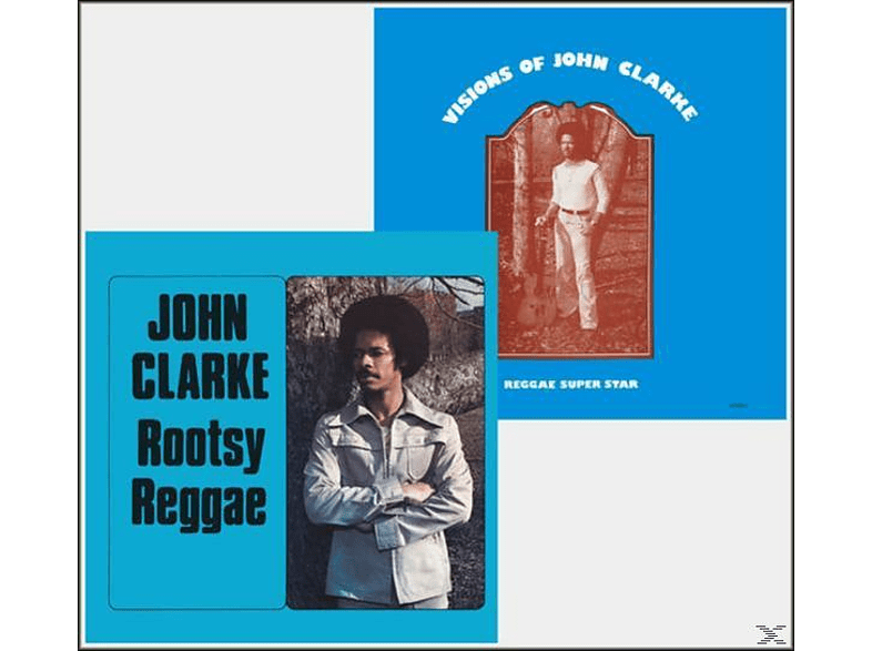 Johnny Clarke - Rootsy Reggae/Visions Of [CD]