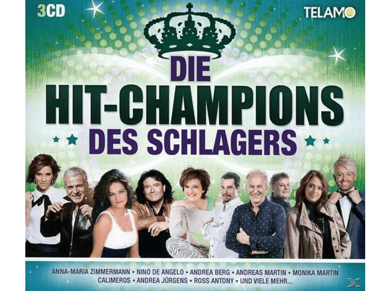 VARIOUS - Hit-Champions Des Schlagers,Die [CD]