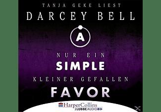 Darcey Bell - A Simple Favor - Nur ein kleiner Gefallen  - (CD)