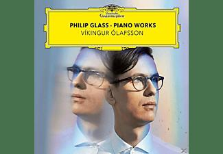 Vikingur Olafsson, Siggi String Quartet - Philip Glass: Piano Works  - (CD)