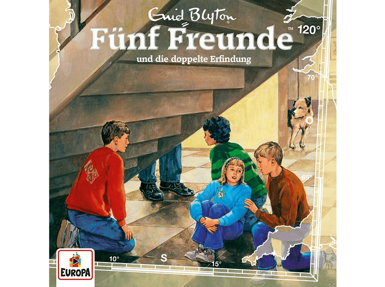 Fünf Freunde - 120/und die doppelte Erfindung - (CD)