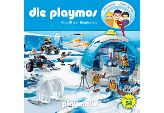 Die Playmos - (54)Angriff Der Eispiraten  - (CD)