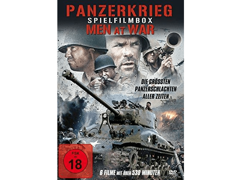 Panzerkrieg - Men At War (Spielfilmbox) [DVD]