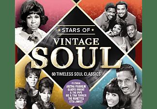 VARIOUS - Stars Of Vintage Soul  - (CD)