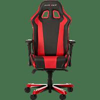 DXRACER King Gaming Stuhl, Schwarz/Rot